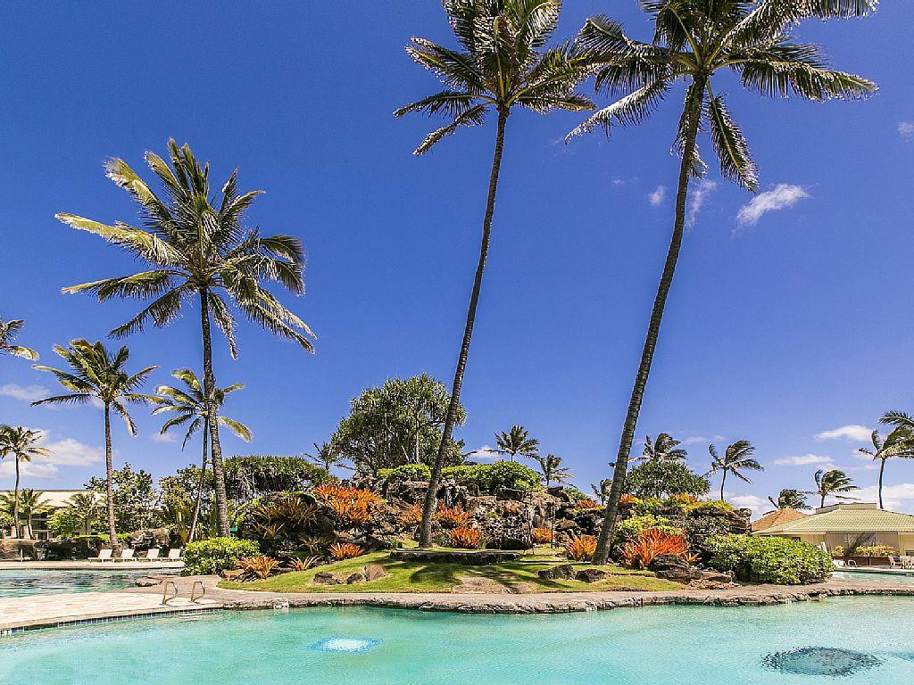 Luxury Kauai Condo #4208, Kauai Beach Resort
