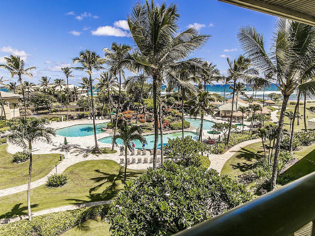Beachfront Luxury Condo, Kauai Beach Resort #2544