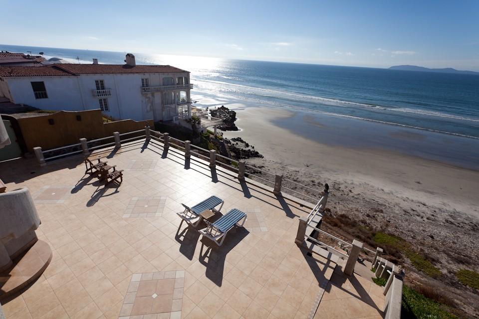Beachfront European Villa