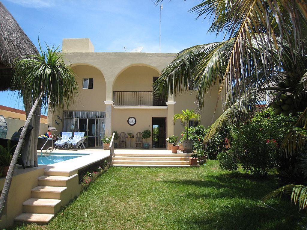 Beachfront Spanish Style Villa